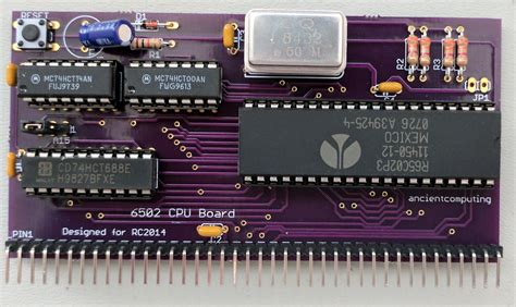 6502org • View Topic  6502 Cpu Board For The Rc2014