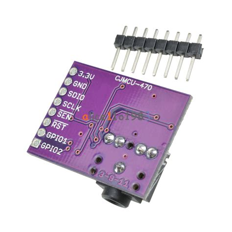 si4703 evaluation breakout rds fm radio tuner board for arduino avr arm ebay