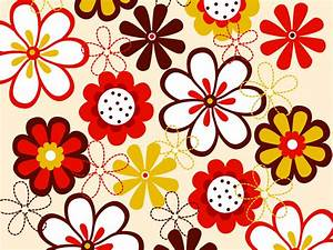 Vector Flowers Pattern Vector Art & Graphics | freevector.com