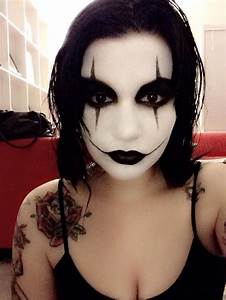 85 best the crow makeup images on Pinterest | Crows ravens ...