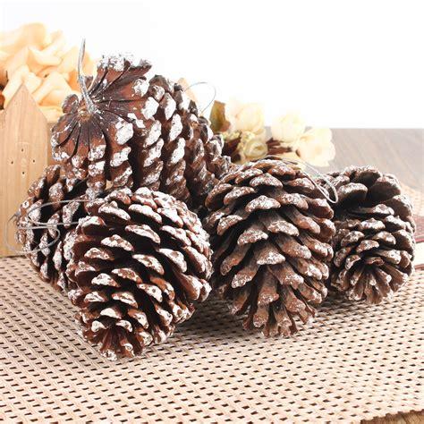 holiday decor xmas christmas tree decoration pine cones