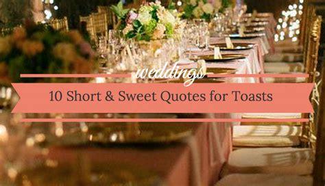 quotes   wedding toast  short  sweet ideas