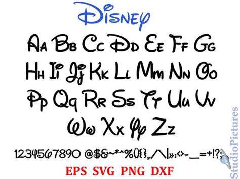 You can copy, modify, distribute and perform the work, even for commercial purposes, all without asking permission. Walt Disney Font svg font svg alphabet Svg Dxf Png