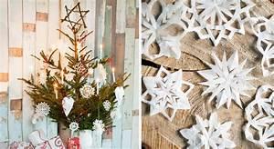 Une déco de Noël en papier Prima