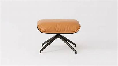 Eq3 Living Furniture Coachella Ottoman Arie Cognac