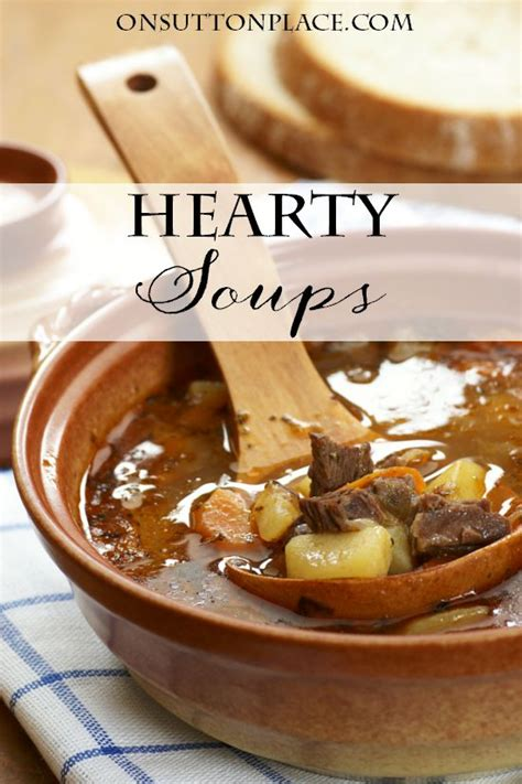 hearty soups for fall fall recipes apples pumpkin zucchini soups more on sutton place