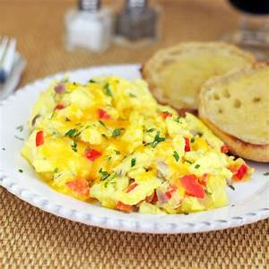 Super-eggy Scrambled Eggs Recipe — Dishmaps