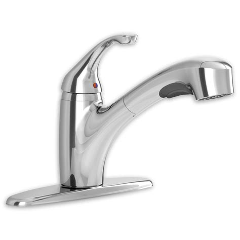 Handle Pull Out Kitchen Faucet by Jardin 1 Handle Pull Out Kitchen Faucet American Standard