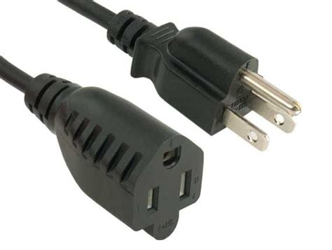 Outlet Saver Power Extension Cord Nema
