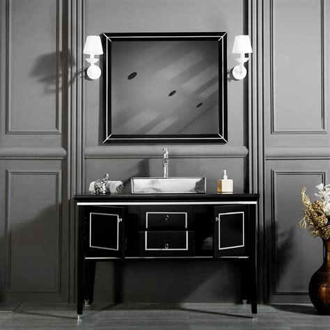black silver bathroom vanities i 1 free standing bath