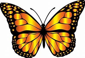 Monarch butterfly clipart - Clipground