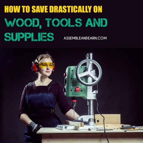 cut enormous costs  wood tools  woodworking