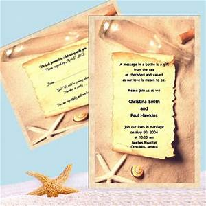 brideca fun wedding invitation idea message in a bottle With destination wedding invitations message in a bottle
