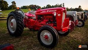 Antique tractor display!