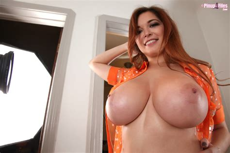 Busty Babe Tessa Fowler Teasing With Big Tits My