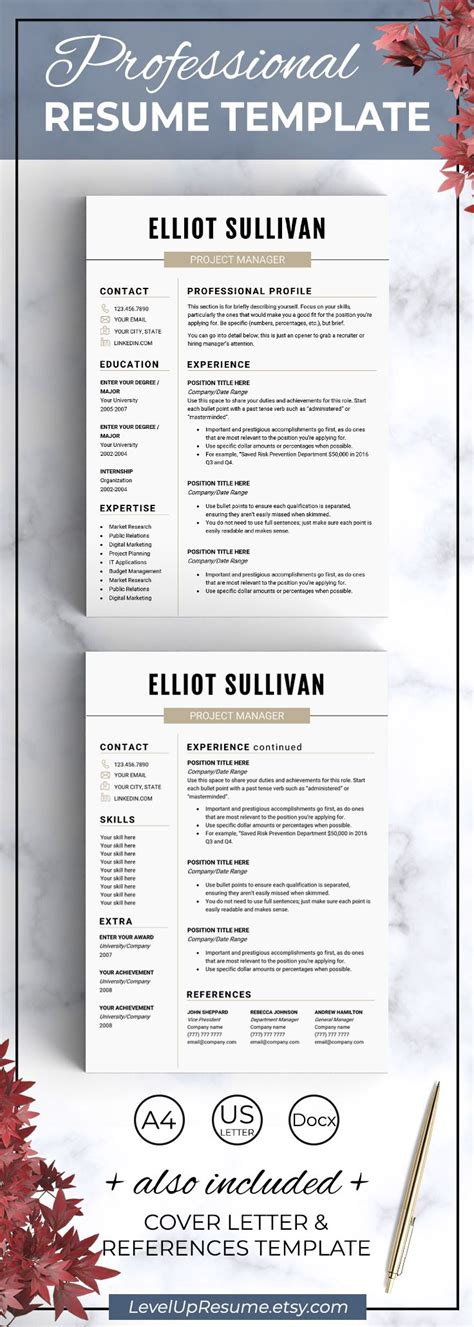 Resume Advice by Best 25 Professional Resume Design Ideas On