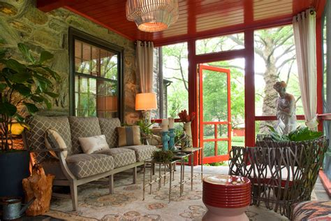 appealing eclectic porch designs youll enjoy spending