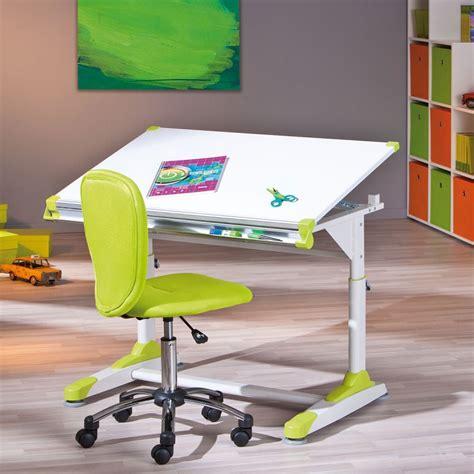 bureau enfant vert bureau inclinable enfant quot duo quot vert