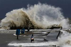 Boy Killed By Log In Surf As Tropical Storm Churns In Gulf