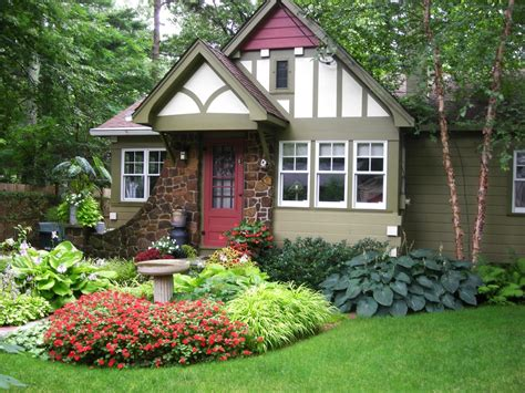 cottage landscape design ideas photos hgtv