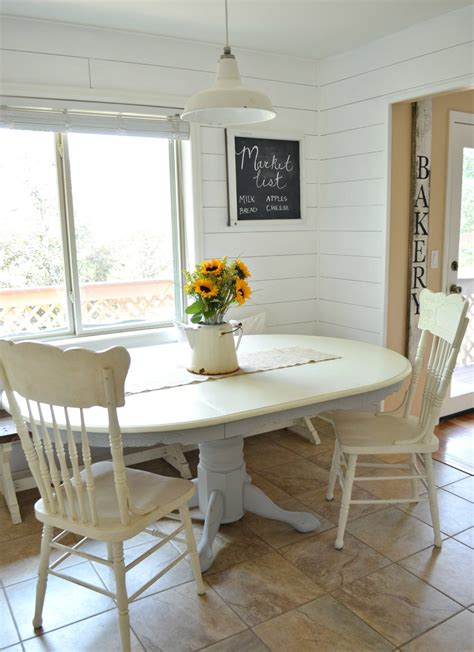 chalk paint dining table makeover little vintage nest