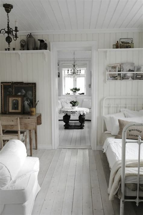 idee deco chambre adulte  suggestions en blanc
