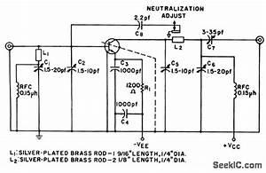 500 Mc Small Signal - Basic Circuit