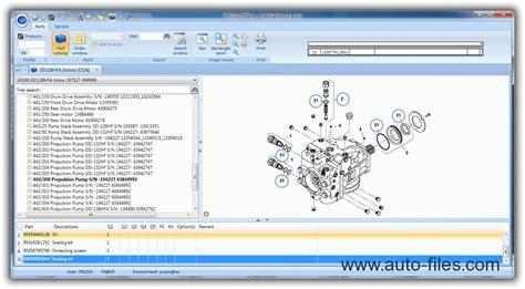 volvo prosis 2012 spare parts catalog repair manual