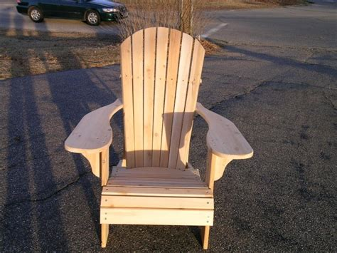 white cedar adirondack chair by daveswoodcraft