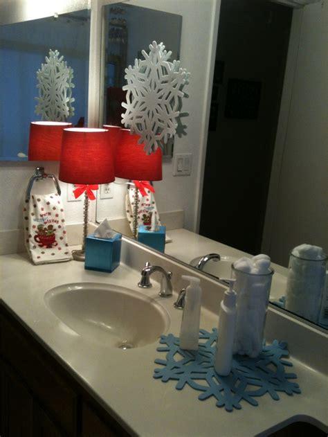 bathroom christmas decorations ideas decoration love
