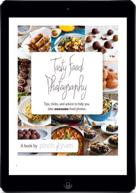 ebook cuisine tasty food photography ebook pinch of yum