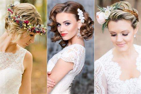 Wedding For Short Hair : Wedding Hairstyles For Short Hair Brides Tying The Knot