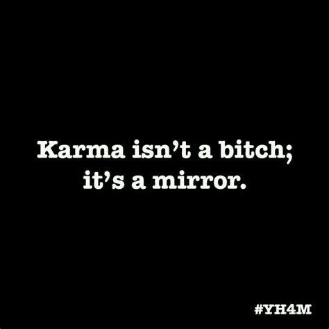 karma    point  finger