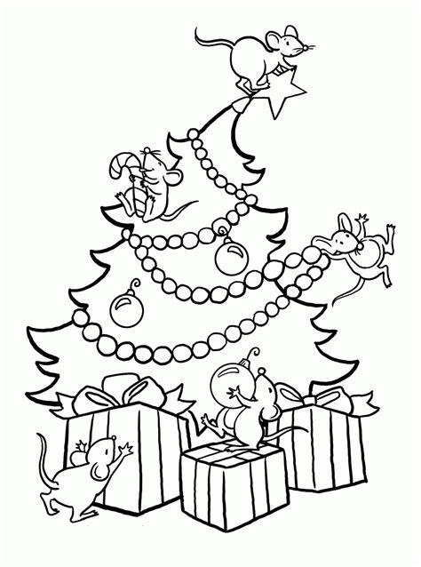 dibujos para colorear navidad infantiles 2 dibujos