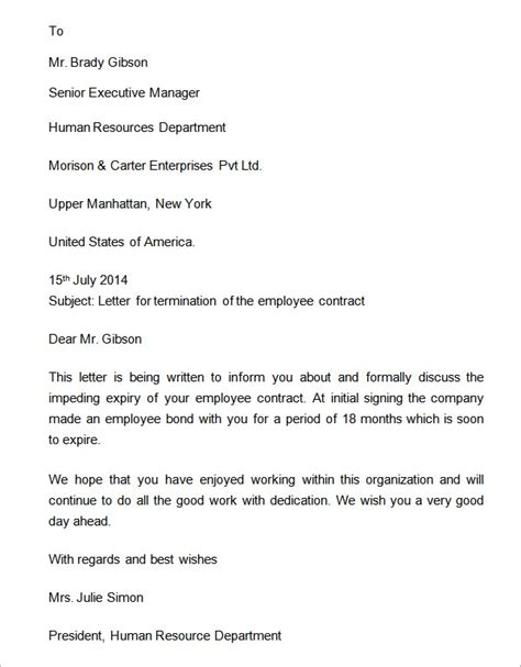 sample formal letter templates   ms word