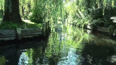 spreewald boat trip luebbenau youtube