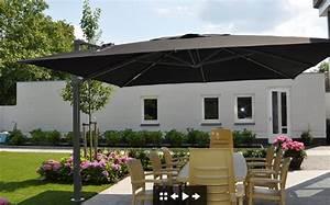 Sonnenschirm 4 X 4 M : parasols xl zweefparasol palestro voor uw tuin of terras ~ Frokenaadalensverden.com Haus und Dekorationen