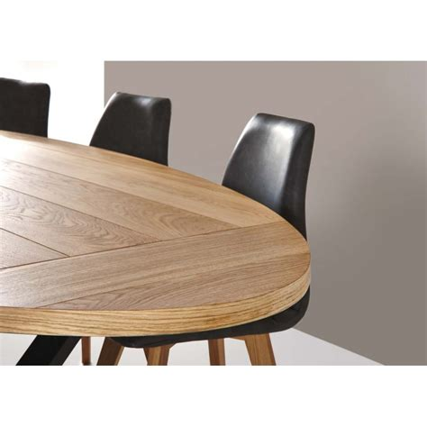 table salle a manger ovale table de salle 224 manger cross ovale d 233 co en ligne tables de salle 224 manger design