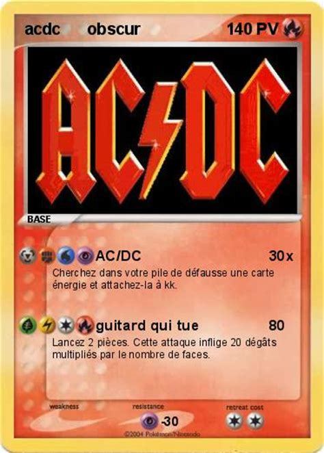 pokemon acdc obscur acdc ma carte pokemon