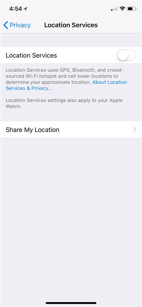how to disable location on iphone how to turn location services on your iphone or android