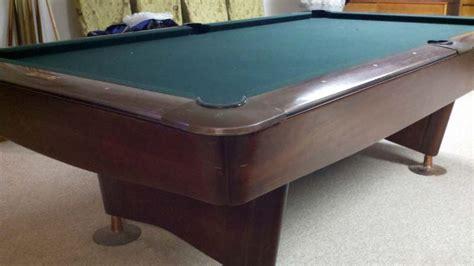 brunswick 8 pool table 8 39 brunswick gold crown iii pool table for sale