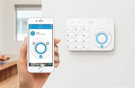 ring unveils  home security system  iphone