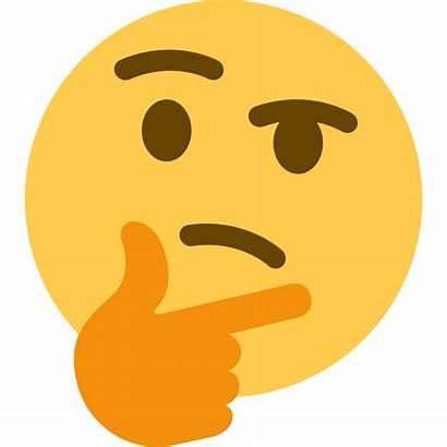 Emoji Transparent Thinking Face Template Meme Memes