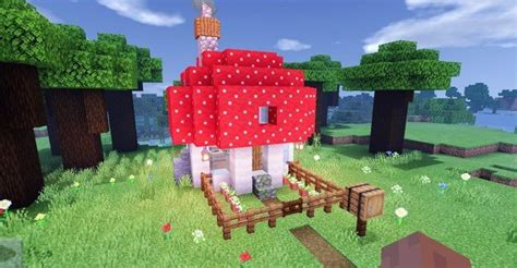 idk     removed   mushroom house minecraft   cute minecraft