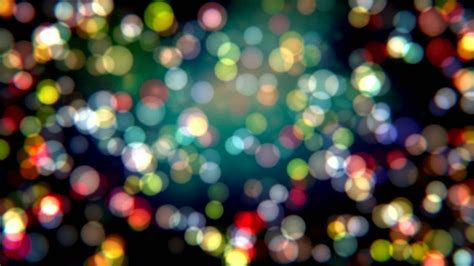 colorful bokeh light video motion background