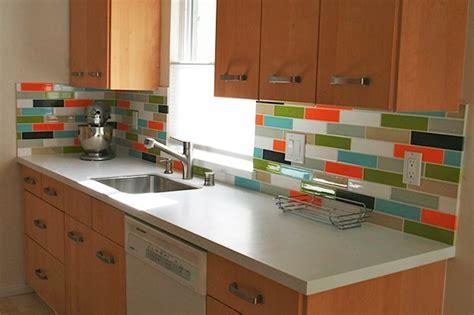colorful kitchen backsplashes colorful backsplash tiles for kitchens homesfeed