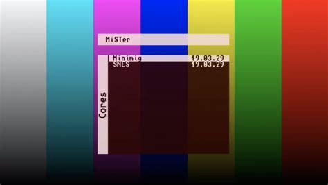 mister de10 standard fpga board porting nano menu