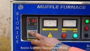 Muffle Furnace 1800 U00b0c For Cement Testing