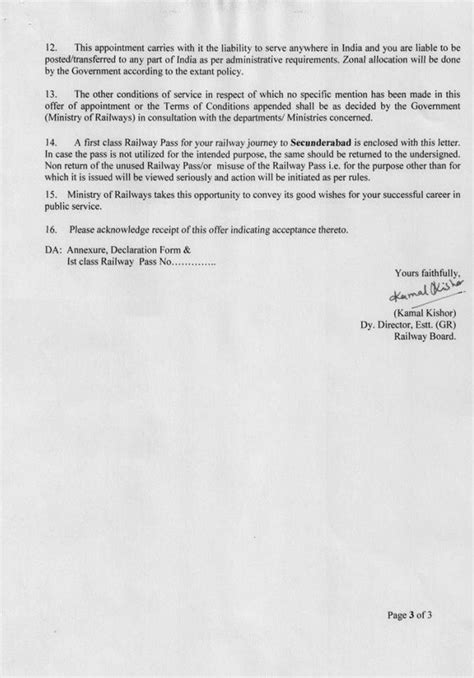 true  ies officers   appointment letter