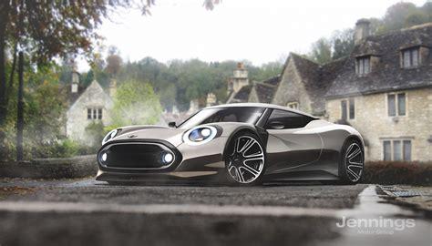 kia supercar mini smart tesla kia and fiat 124 imagined as excellent